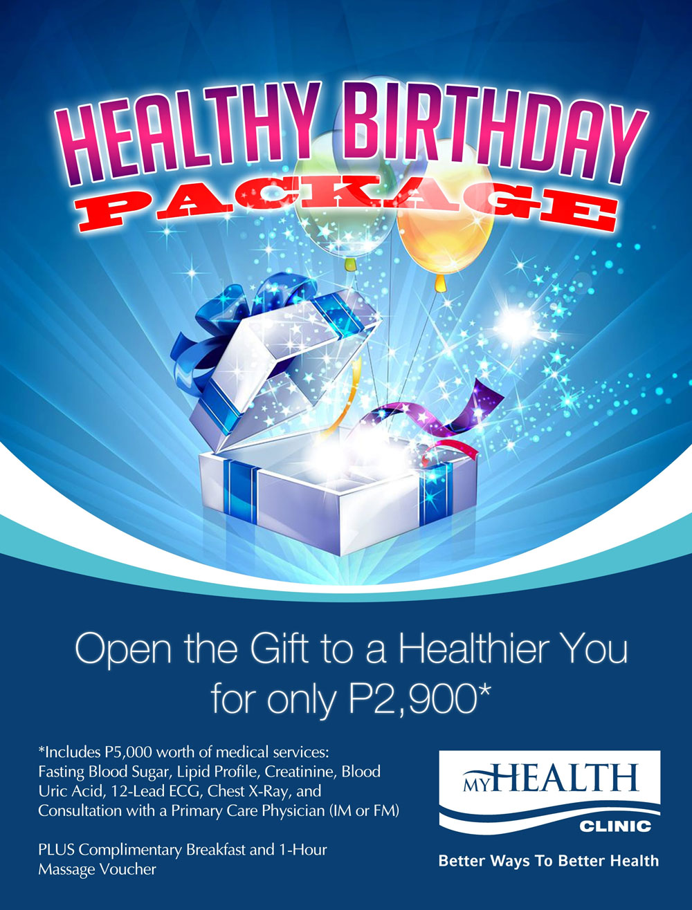 Annual Check-Up Package