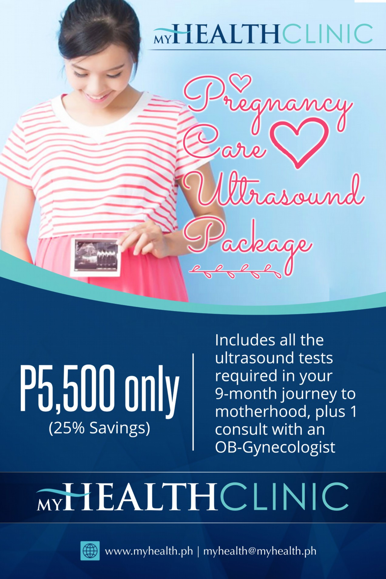 Pregnancy Care Ultrasound Package