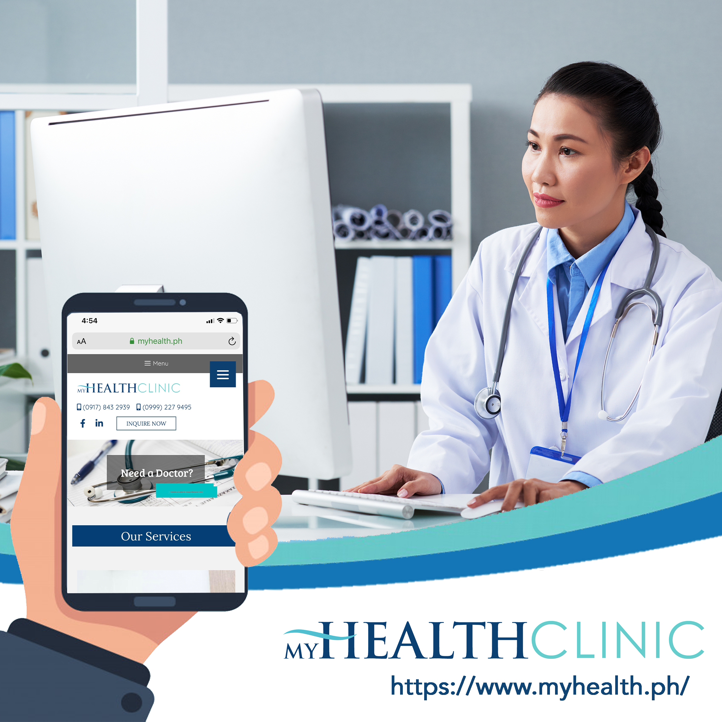 Online Consultation Primary Care Myhealth Clinic